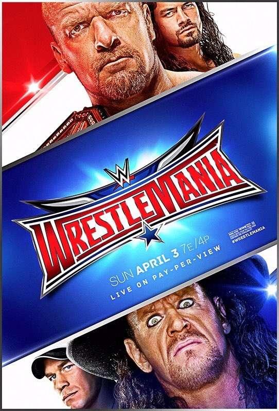 العرض السنوي المنتظر Wrestlemania (32)