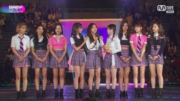 TWICE Wins Song Of The Year Award For 2nd Year In A Row At 2017 Mnet Asian Music Awards (MAMA)