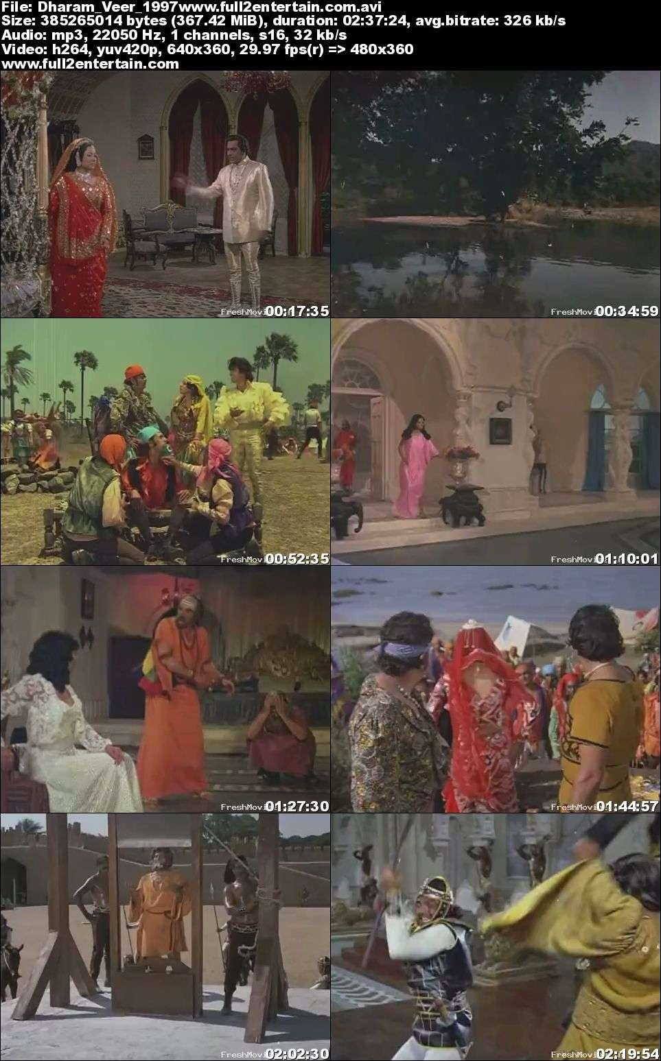 Dharam Veer 1997 Full Movie Download Free in Dvdrip 480p