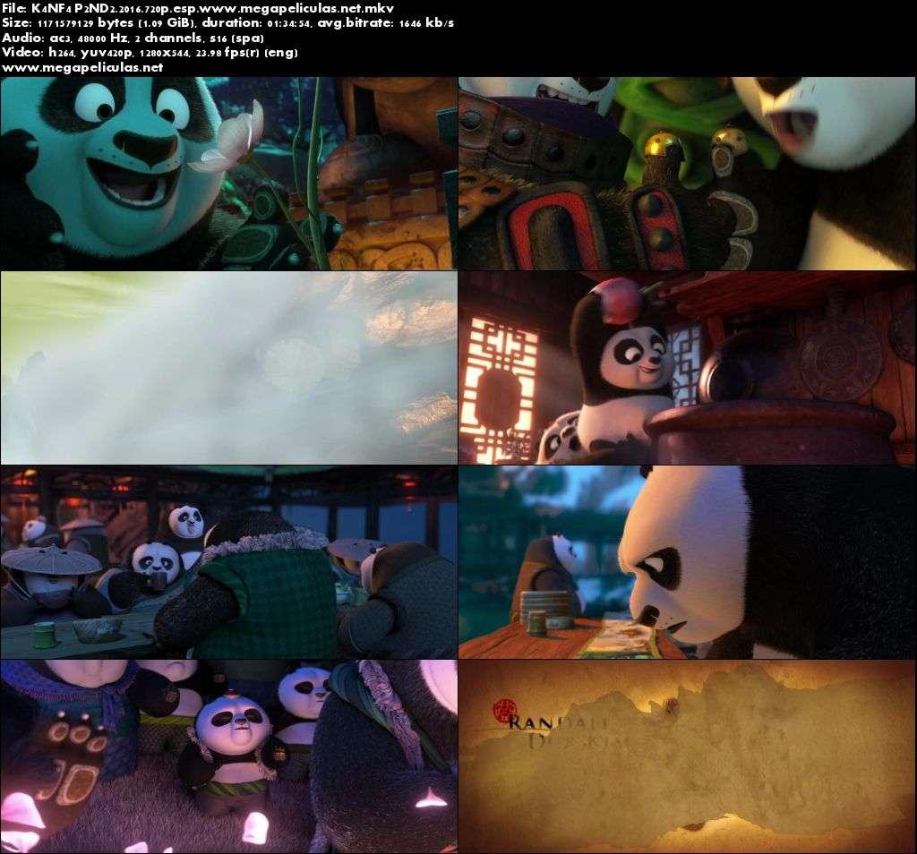 Capturas de Kung Fu Panda 3 (2016) [BrRip 720p][Latino]