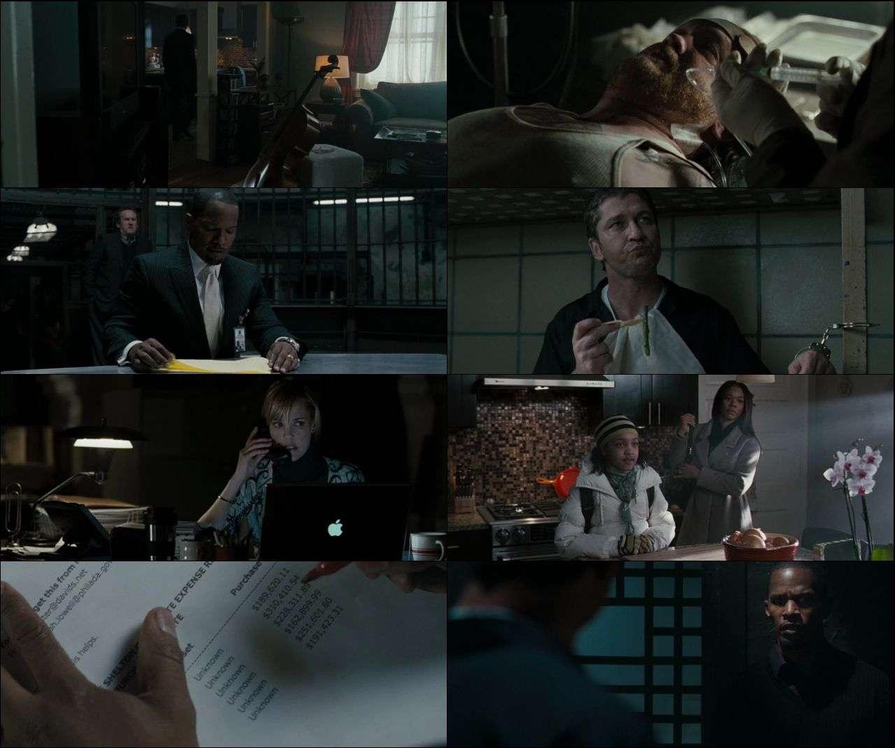 Adalet Peşinde - Law Abiding Citizen (2009) hd türkçe dublaj film indir