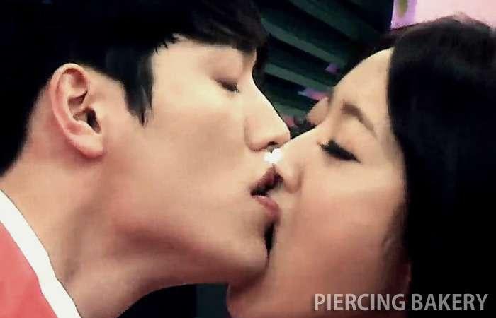 경리와 서강준의 키스