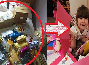 5살 소녀를 오열하게 한 2천 통의 생일 축하 편지