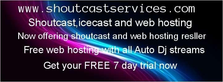 Shoutcast & Web Hosting
