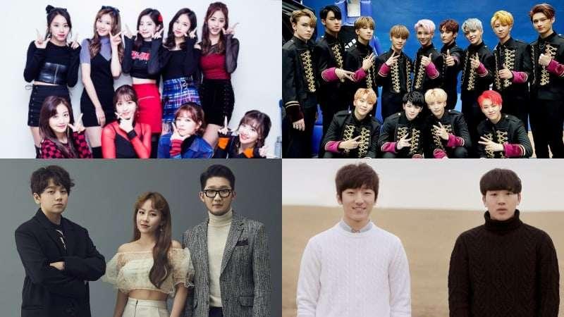 TWICE, SEVENTEEN, Urban Zakapa, And MeloMance Top Weekly Gaon Charts