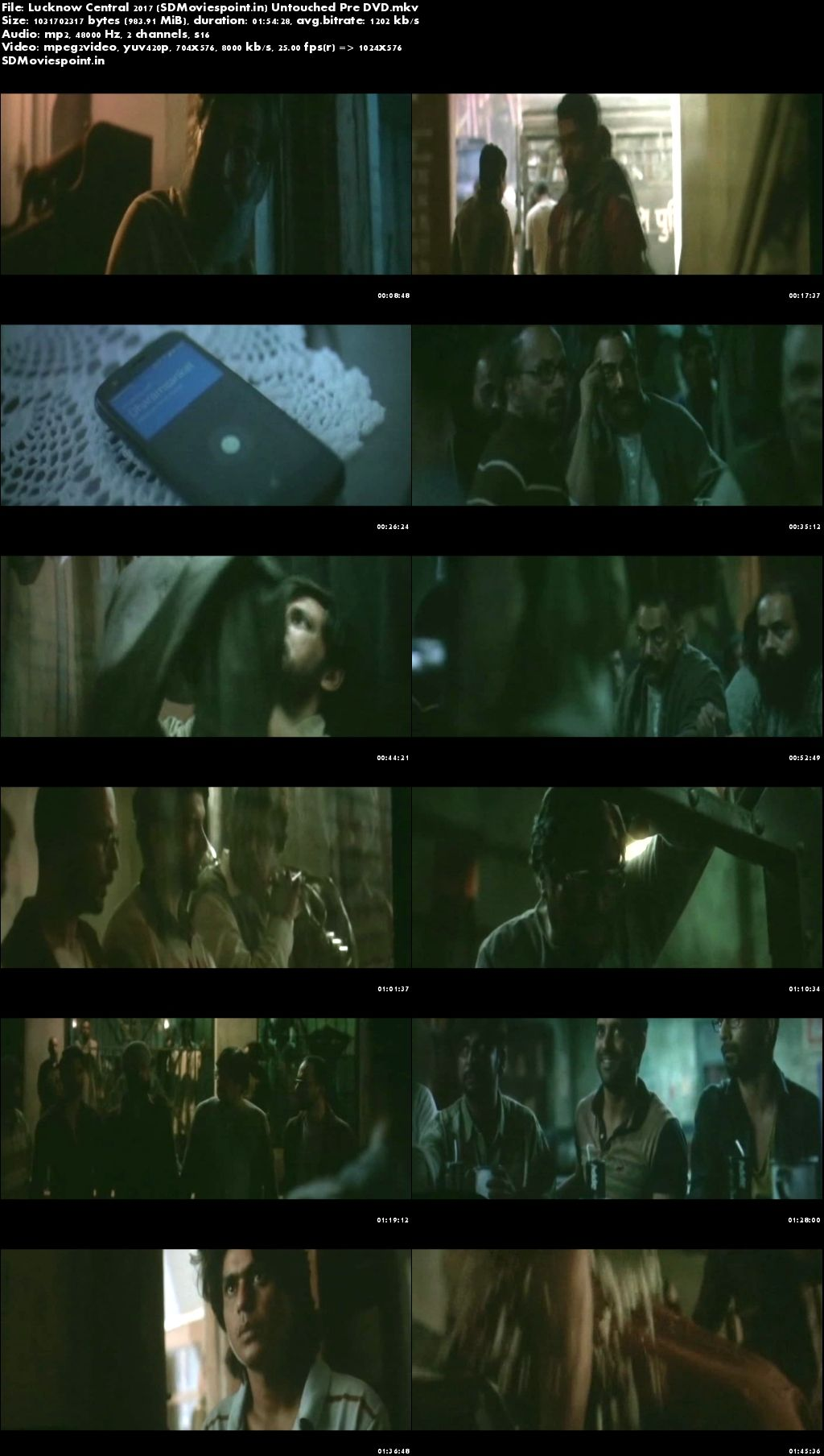 Screen Shots Lucknow Central (2017) Full Hindi Movie Download Pre DvD