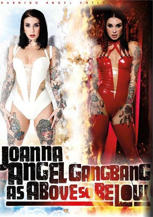 Групповуха: Как сверху, так и снизу Joanna Angel / Joanna Angel Gangbang: As Above So Below [2018] DVDRip |