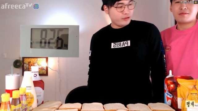 식빵 120장 먹기 전 후 몸무게변화