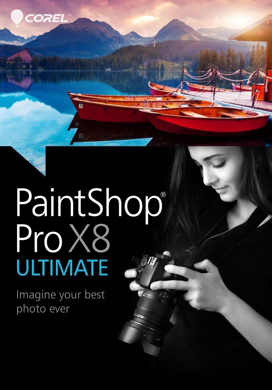 Corel PaintShop Pro X8 18.2.0.6 Retail + Ultimate Pack | PC | Лицензия