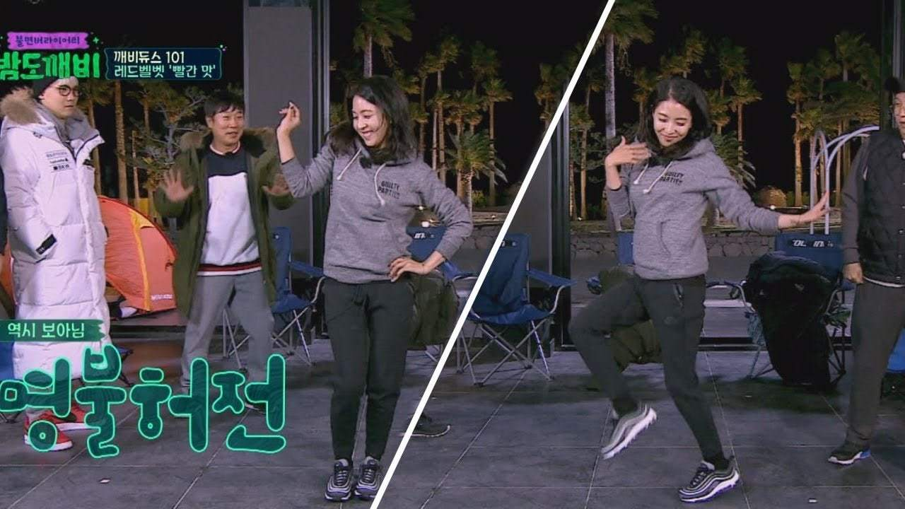 "Watch: BoA Teaches ""Night Goblin"" Cast Red Velvet's ""Red Flavor"" To Find The Best Dancer"