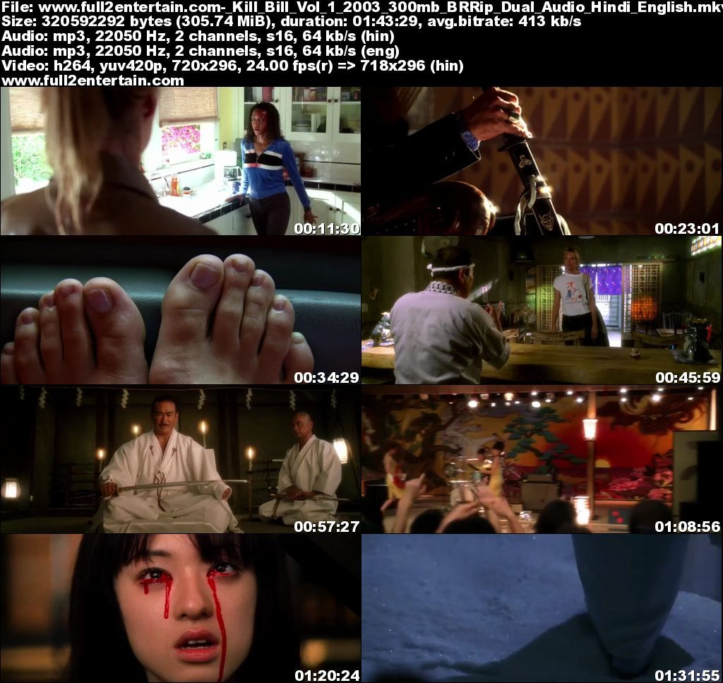 Kill Bill Vol 1 2003 Full Movie Free Download HD 300mb