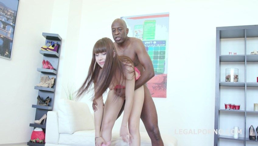 Luna Rival goes black 2on1 Ball Deep Anal /Dp with 4 cumshot on the open asshole GIO241 |