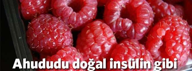 Ahududu doğal insülin gibi