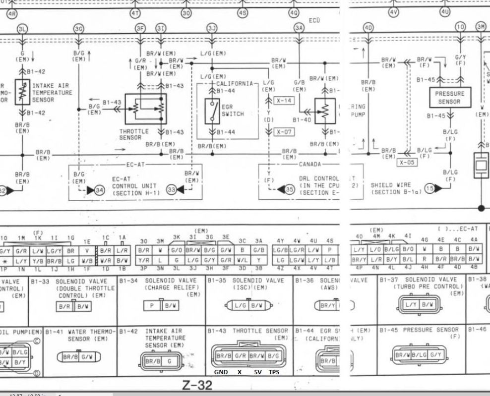 Fd Tps Wiring Help Mazda Rx7 Forum Texas Gg Diagram Phone Are Backward Flip The Connector Over So That Lock Is On Top And What You Have Will Be Correct Relative To Left Right