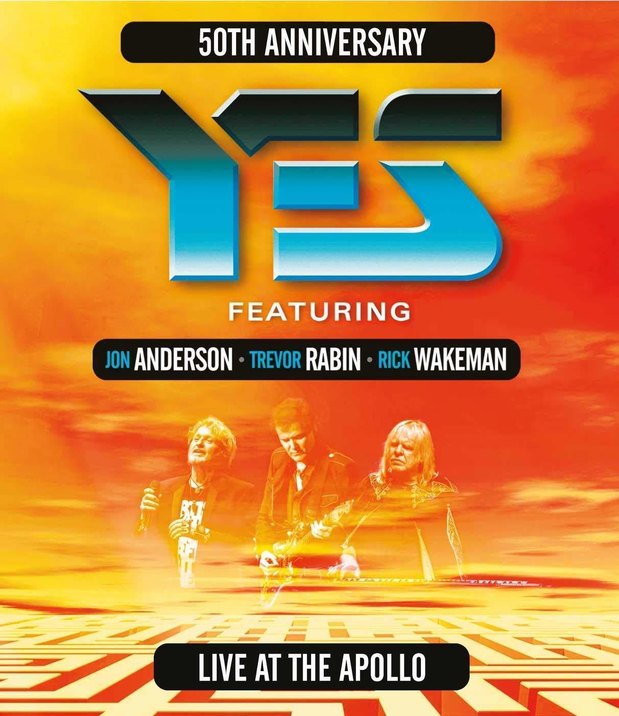 Yes - Live at the Apollo (2017) BluRay Full DTS-HD ENG