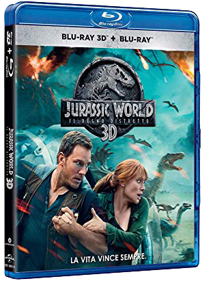Jurassic World - Il regno distrutto (2018) MKV 3D Half OU Untoched 1080p DTS-HD ITA ENG + AC3 Sub - DDN