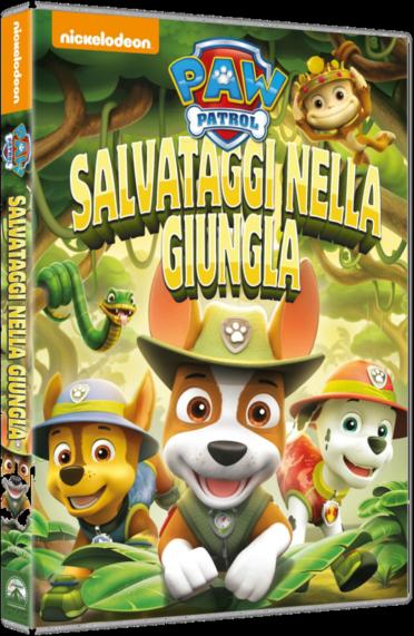 Paw Patrol - Salvataggi nella giungla (2017) DVD 5 Copia 1:1 Multi ITA