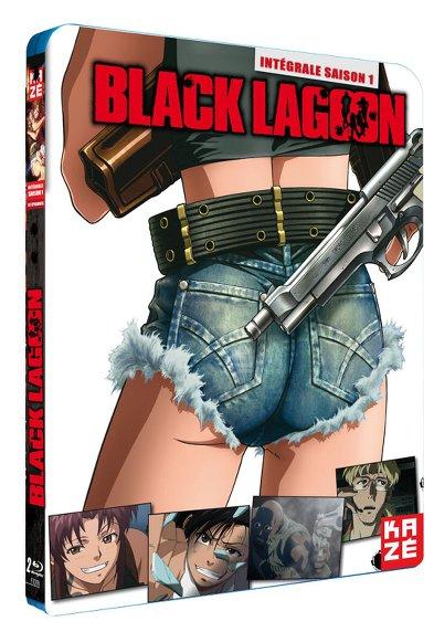 Black Lagoon & The Second Barrage (Stagioni 1 & 2) (Versione Integrale) (2006) 4 BluRay Full AVC LPCM  Multi ITA