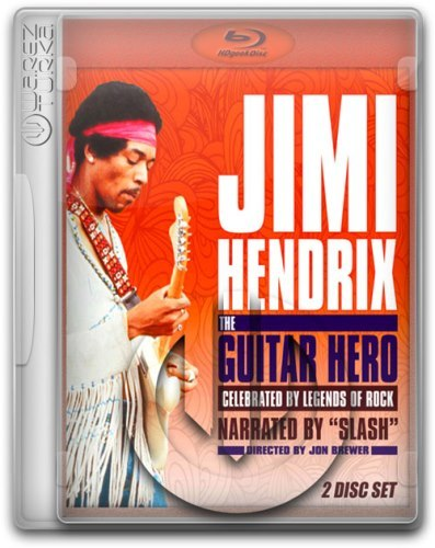 Jimi Hendrix - The Guitar Hero (2013) 2 BluRay Full AVC LPCM Sub ITA