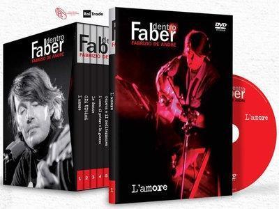 Fabrizio De Andrè – Dentro Faber (2011) 8 DVD5 Copia 1:1 ITA