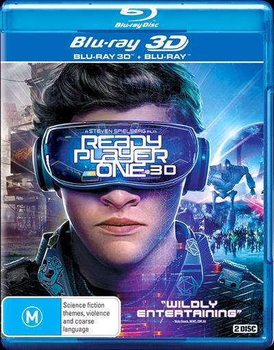 Ready Player One (2018) mkv 3D Half OU Untoched 1080p DTS-HD ITA ENG + AC3 Sub - DDN