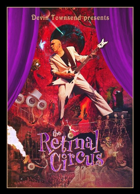 Devin Townsend Project - The Retinal Circus (2013) BluRay Full AVC LPCM ENG