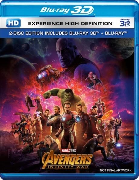Avengers Infinity War 3D (2018) Full Bluray AVC iTA DD+ 7.1 ENG DTS-HD 7.1 - DDN