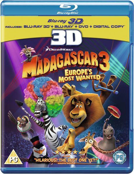 Madagascar 3 - Ricercati in Europa 3D (2012) mkv 3D Half-SBS 1080p AC3 ITA TrueHD ENG - DDN