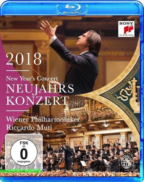 Riccardo Muti & Wien: Concerto di Capodanno 2018 (2018) BluRay Full AVC DTS-HD - DDN