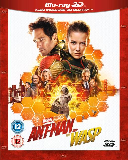 Ant-Man and the Wasp (2018)  3D Full Bluray AVC DD+ ITA/SPA/ DTS HD ENG DDN