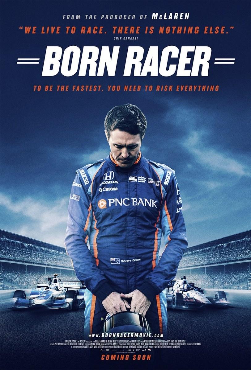 Born Racer Poster IndyCar Scott Dixon Chip Ganassi Racing