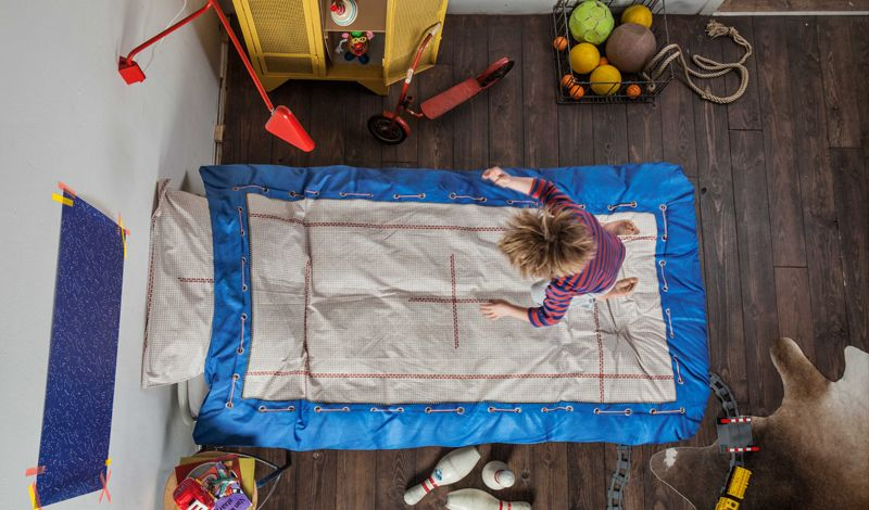 Trampoline kids' bedding set | Snurk Bedding