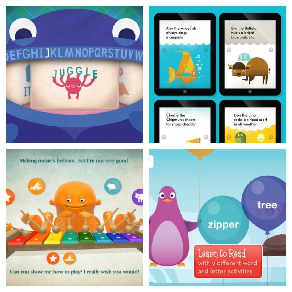 Educational apps for little kids