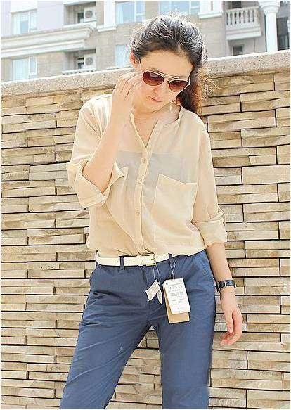 Koszula bluzka szyfon mgiełka kolory s l MODITO  V5PlS