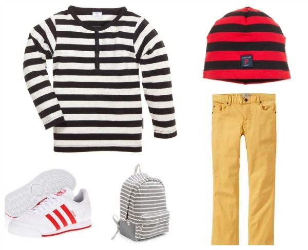 Old Navy outfit for boys - stripes