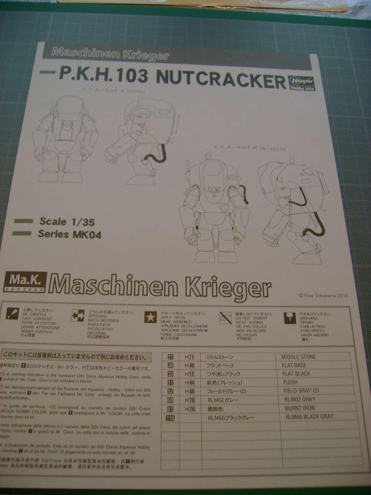 Review kit P.K.H NUTCRACKER   Serie MK04 1/35......By Hasegawa. Dsc03364f