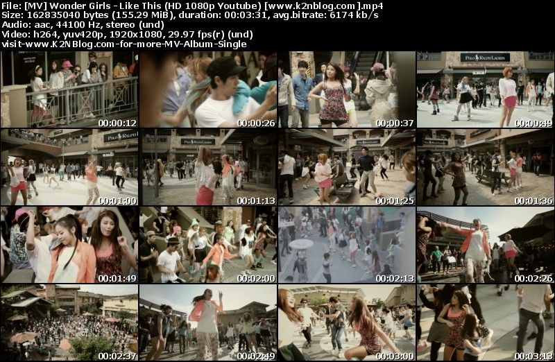 [MV] Wonder Girls - Like This (HD 1080p Youtube)