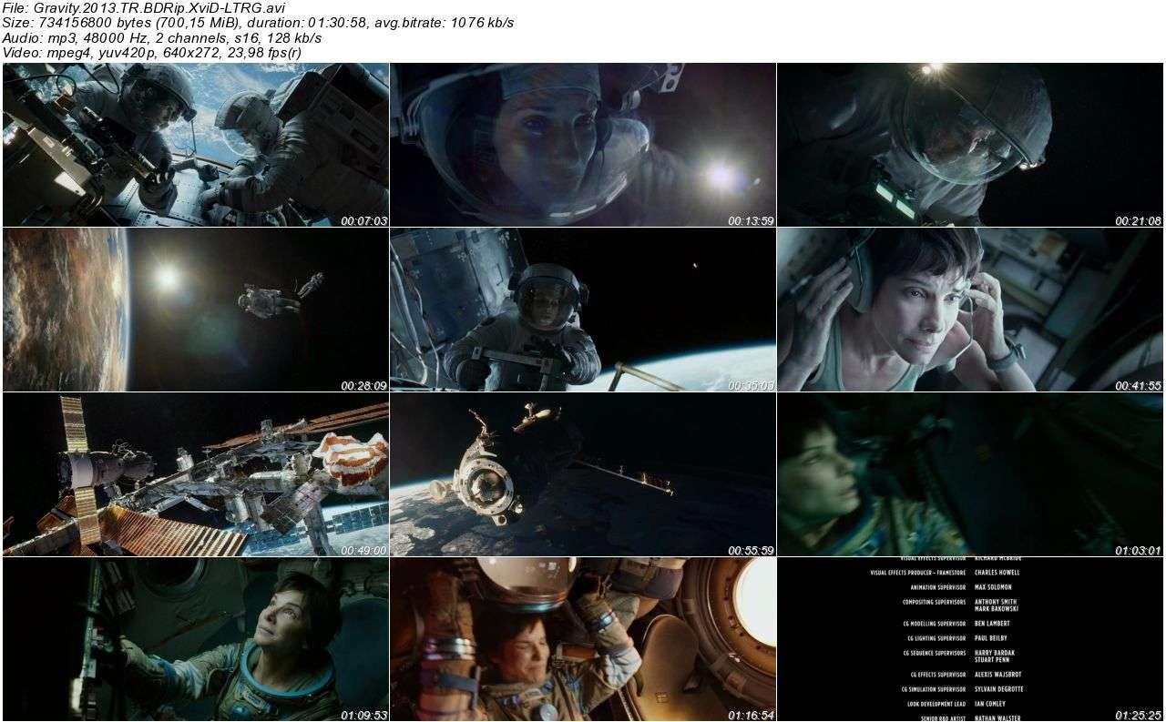 Yerçekimi - 2013 BRRip XviD AC3 - Türkçe Dublaj Tek Link indir