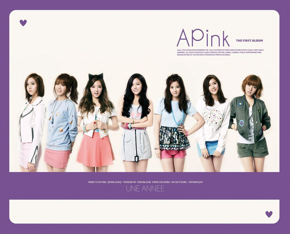 [Album] A Pink - UNE ANNEE (The 1st Abum)