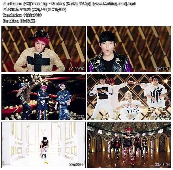 [MV] Teen Top - Rocking [MelOn HD 1080p]