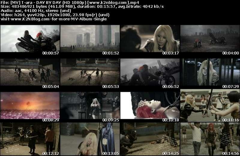 [MV] T-ara - DAY BY DAY (HD 1080p Youtube)