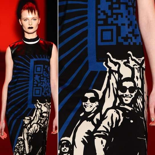 Vivienne Tam QR code dress
