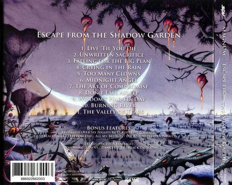 Magnum Escape From The Shadow Garden Digipak Edit