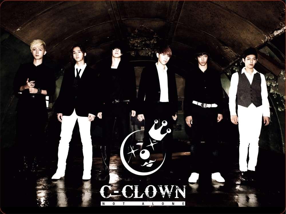 [Mini Album] C-CLOWN - Not Alone [1st Mini Album]