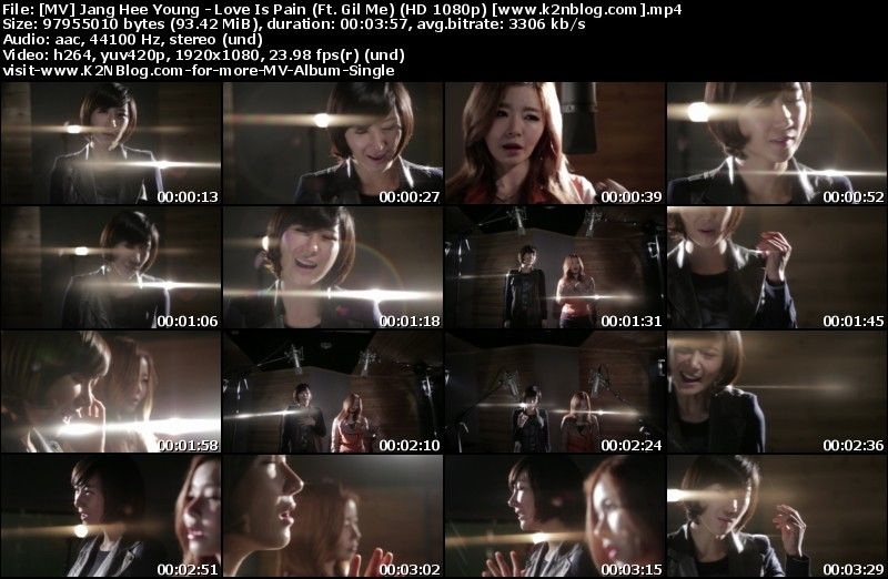 [MV] Jang Hee Young (Gavy NJ) - Love Is Pain (Ft. Gil Me) [HD 1080p Youtube]