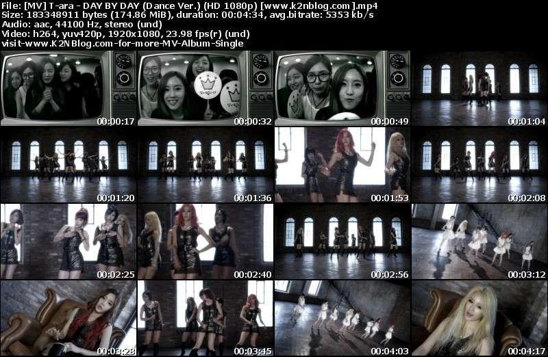 [MV] T-ara - DAY BY DAY (Dance Ver.) (HD 1080p Youtube)