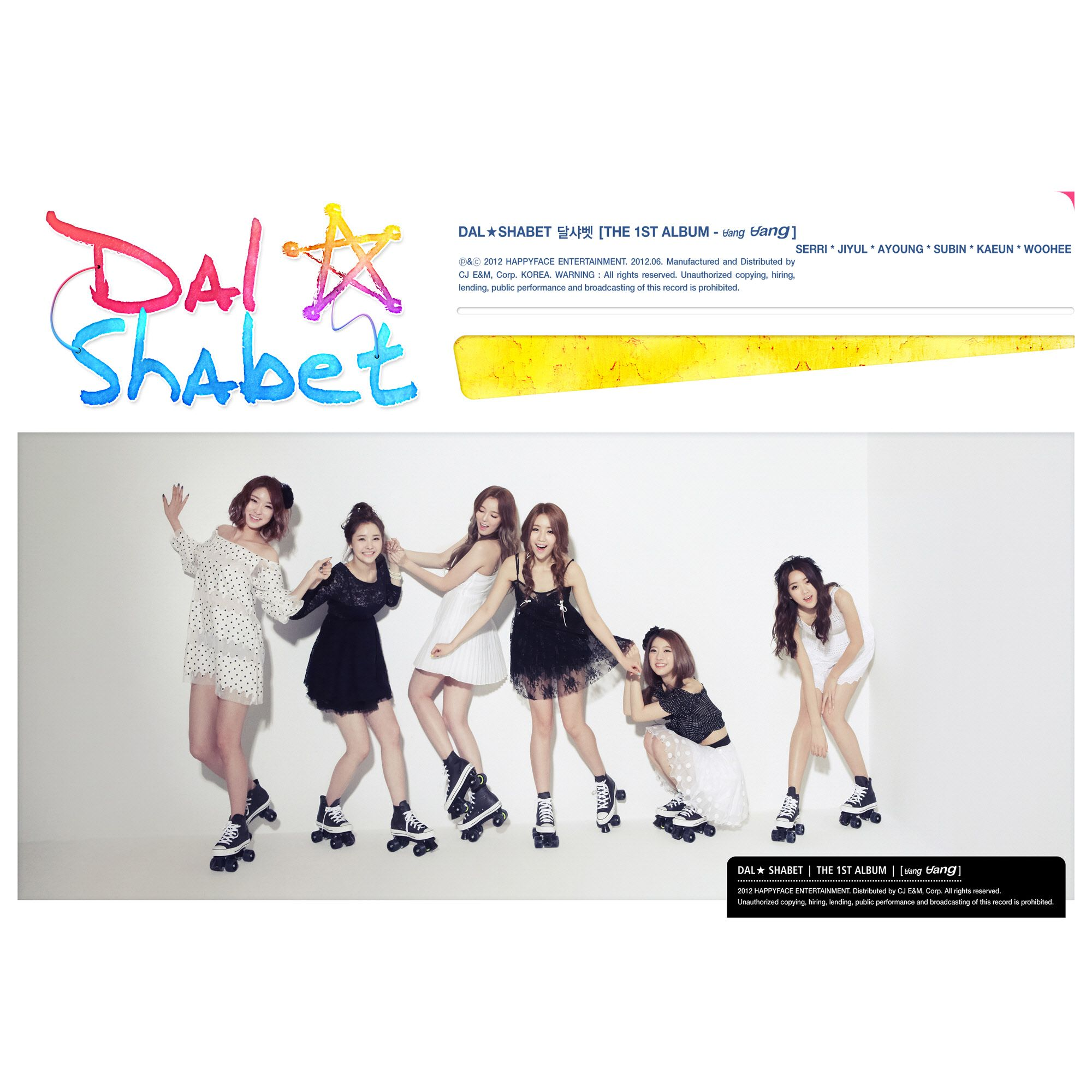 [Album] Dal★shabet - BANG BANG [The 1st Album]