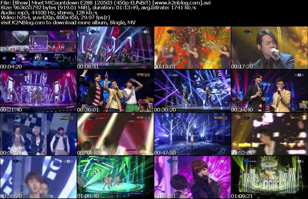 [Show] Mnet M!Countdown E288 120503
