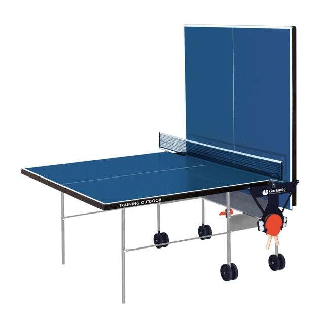 Tennis tavolo ping pong training garlando esterno blu ebay for Costo ascensore esterno 4 piani
