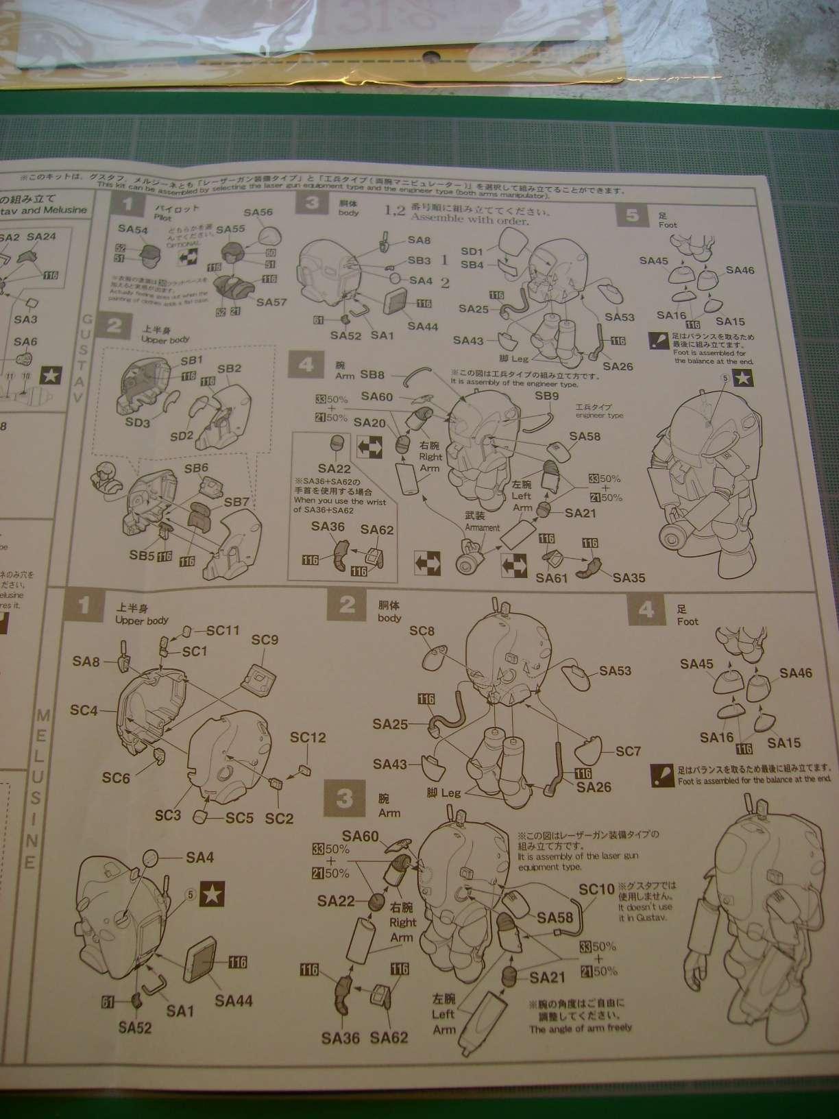 Review kit P.K.H NUTCRACKER   Serie MK04 1/35......By Hasegawa. Dsc03365ou